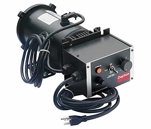 Dayton 2Z846 Adjustable Speed Motor, Perm Magnet DC
