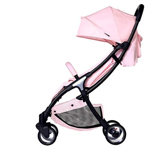 BLWX - Bébé Poussette Parapluie bébé Peut s'asseoir et Se Coucher léger Pliant Ultra léger Petit Chariot Poussette (Couleur : C)