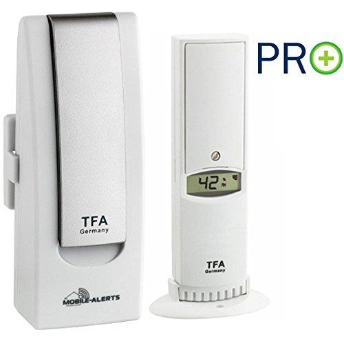 Weatherhub 56 SmartHome Datenlogger-Set Klimalogger TFA 31.4000.02.56 Temperatur Luftfeuchte
