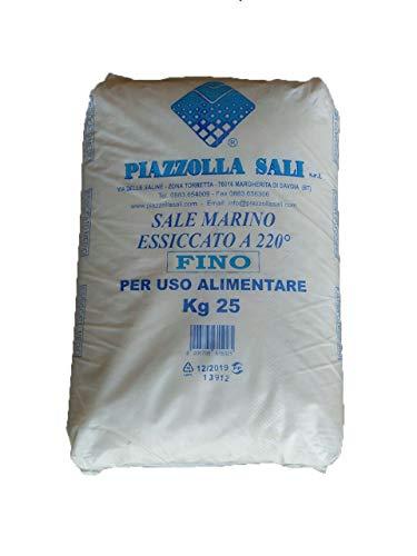Sale Marino Fino 25kg, Uso alimentare, Piazzolla Sali