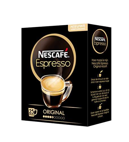 Nescafé Gold Espresso Sticks oploskoffie - 6 doosjes met 25 sticks