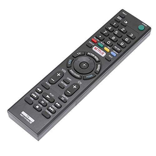 RMT-TX100U Replace Remote Control fit for Sony LED 4K UHD Smart Bravia TV 49X700D 55X700D KDL-50W800C KDL-50W850C KDL-55W800C KDL-55W850C KDL-65W800C KDL-65W850C KDL-75W800C KDL-75W850C XBR-43X830C