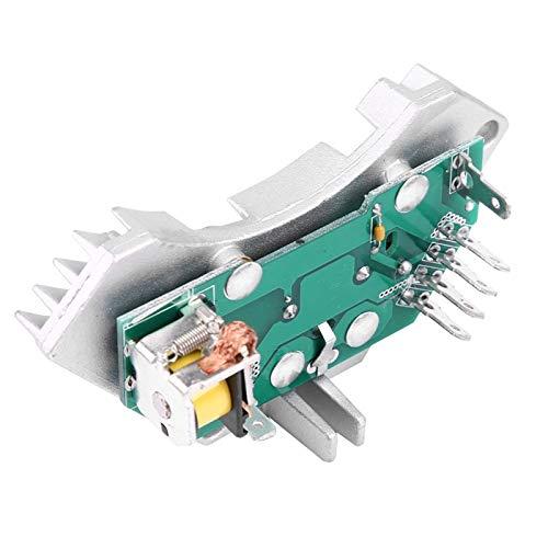 Lyjun Auto Calentador de Autos Blower Motor Resistor Fit para Peugeot Fit para Citroen Fit para Berlingo Fit para Xantia Fit para Xsara 644178 (Color : Green 100, Type : Condenser Blower)