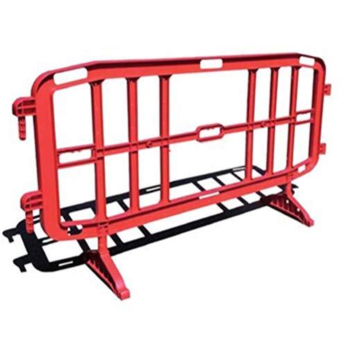 Transenna in plastica (PP) stradale, Mis. 200 x 102 cm, colore rosso (Rosso)