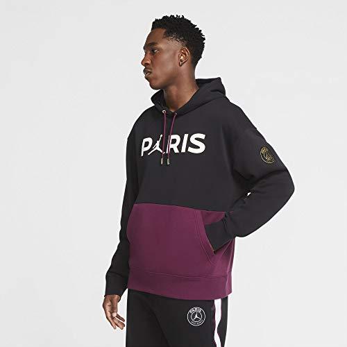 Nike PSG Paris Saint Germain Felpa Jordan Cappuccio 2020-21 (L)