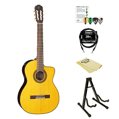 Takamine GC5CE-KIT-2 Acoustic Electric Classical Cutaway Guitar