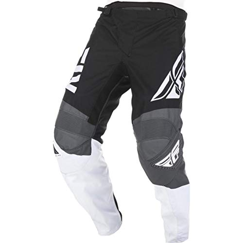 372-93040 - Fly Racing 2019 F-16 Motocross Pants 40 Black White Grey