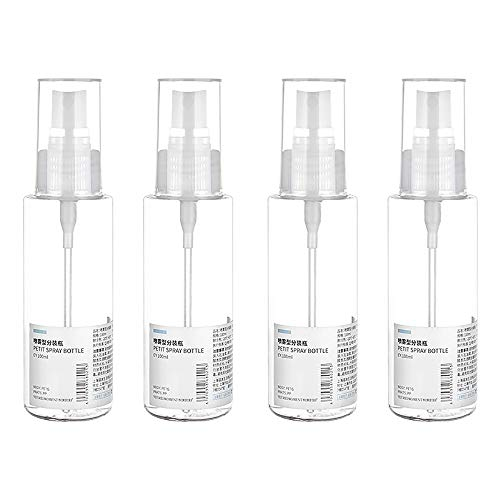 100ml Atomiser navulbare flessen Mini Reisparfum Verstuiver Spray Reisfles voor Aftershave Mini Ondervulling Lege Fles Set van 4