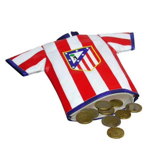 Atlético de Madrid 2018 Monedero, 13 cm, Multicolor