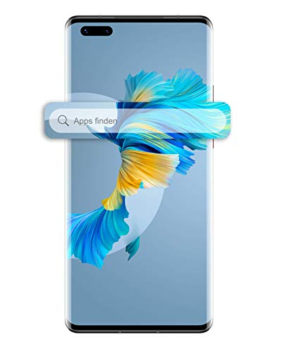 "HUAWEI Mate 40 Pro – Smartphone mit 50 MP Ultra Vision Kamera, 8GB RAM, 256GB ROM, Android 10 ohne Google Play Store, EMUI 11, 6,76\"" OLED Display – Black + 5 EUR Amazon Gutschein"