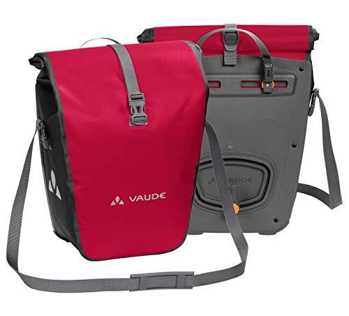 VAUDE Aqua Back Fahrrad Tasche – wasserdichte Gepäckträger Tasche im praktischen 2er Set