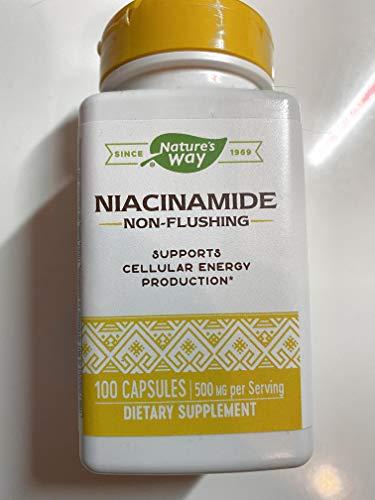 Nature's Way (ネイチャーズ・ウェイ) ナイアシンアミド Niacinamide 500mg 100カプセル [並行輸入品]