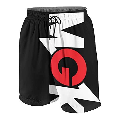 IUBBKI M-G-K Cool Machine-Gun Pantalones Cortos de Playa par