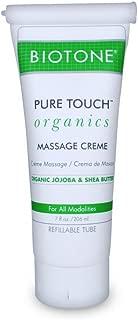 Biotone Pure Organic Massage Creme, 7 Ounce