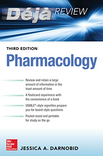 Deja Review: Pharmacology, Third Edition