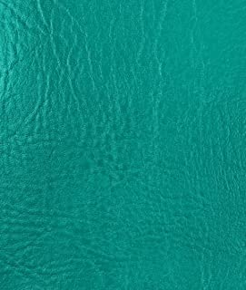Spradling Heidi Soft Marine Medium Teal Vinyl Fabric - by the Yard