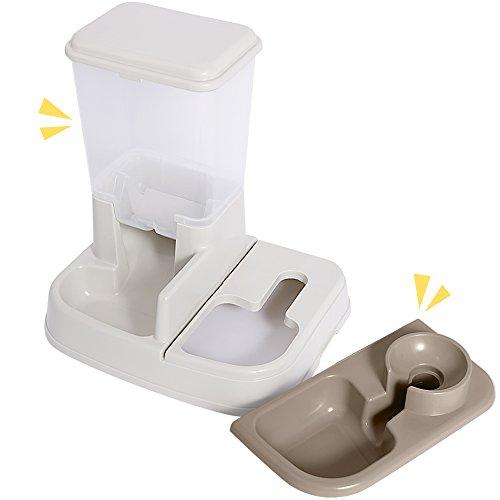 アイリスオーヤマペット用自動給餌器給水器ホワイトJQ-350