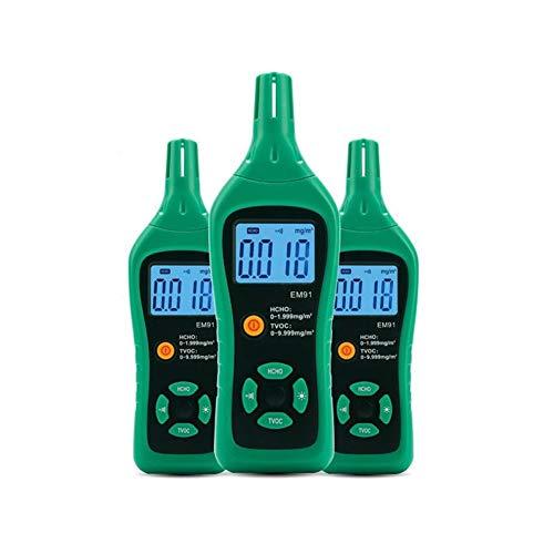Gas-Detektor Digital-Smart-Formaldehyd-Gas-Detektor Gaszähler Formaldehyd Tester Sensor HCHO TVOC Meter Air Analyzer XXYHYQHJD
