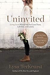 Lysa takes you through her personal journey and struggles to overcome rejection and feeling unwanted. If you are a perfectionist, like myself, this book is a must-read. She provides her personal stories and weaves into them words from the Bible and the promises contained within.