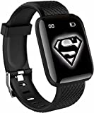 SHOPTOSHOP Smart Band ID166 Plus Activity Tracker Blood Pressure, OLED Touchscreen for Men/Women...