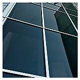 Buydecorativefilm BDF NA20 Window Film Privacy and Sun Control N20, Black (Dark) - 36in X 24ft