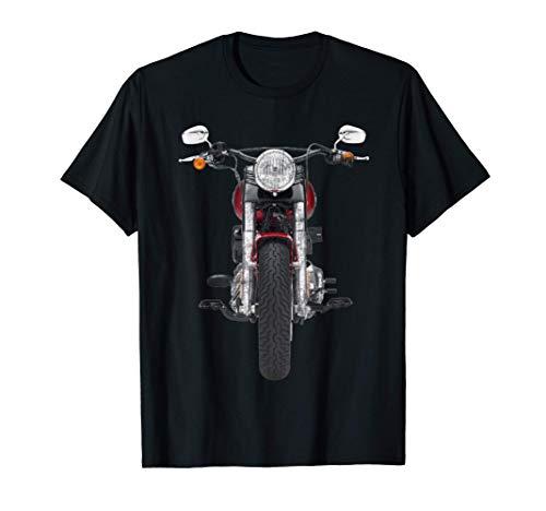 La vie est meilleure lorsque vous conduisez une moto rouge. T-Shirt