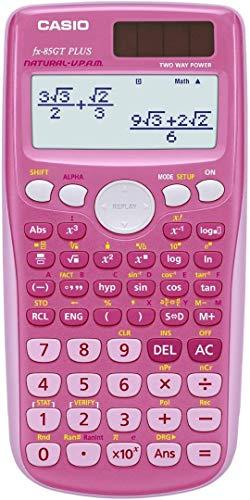 Calculadora Casio FX-85GT Plus, rosa