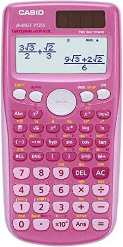 Casio FX 85 GT Plus - Pink