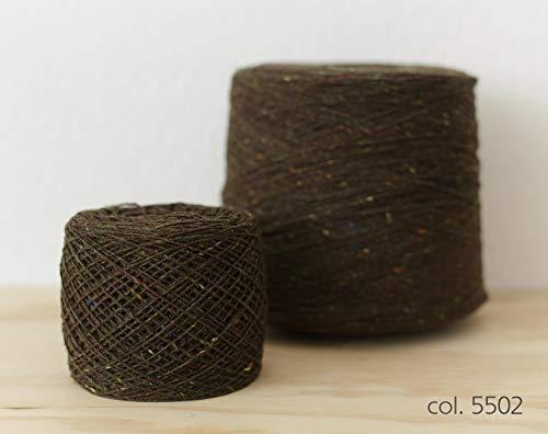 Knoll Soft Donegal Tweed, Merino Wool Green / 100% Merino Wolle Grün (5502), 100g