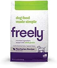 Freely Limited Ingredient Diet, Natural Dog Food, Whole Grain Adult Dry Dog Food, Flexitarian (Vegetarian, Turkey) Kibble, 21lb bag