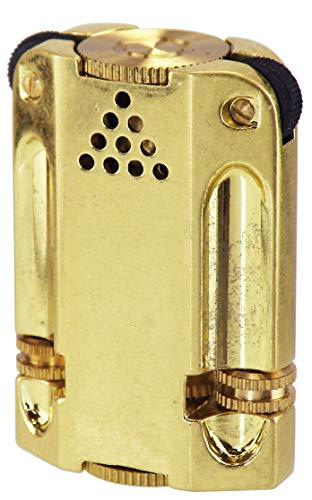 ペンギンライター ライター アレックス3 卓上用 バレル仕上げ ブラス