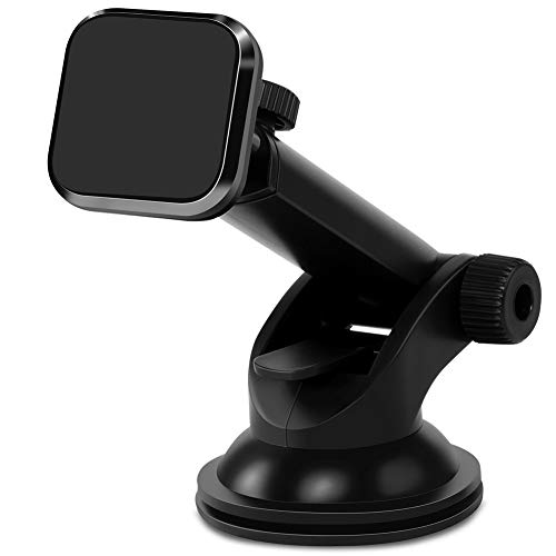 Magnetic Car Phone Mount, Miracase Dashboard Phone Holder Cradle Compatible with iPhone X 8 Plus 7 Plus 6s Plus Samsung Galaxy S9 Plus S8 S7 Edge Google Nexus LG Sony Huawei and More