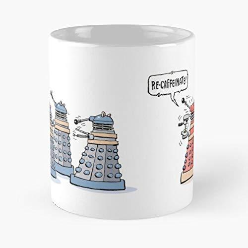 Keramik-Kaffeetasse mit der Aufschrift