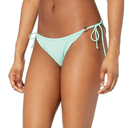 Body Glove Damen Brasilia Tie Side Cheeky Bikini Bottom Swimsuit Bikinihose, Neo Mint, X-Large