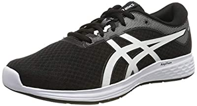 Asics Patriot 11, Men's Running Shoes, Black (Black/White 001), 9 UK (44 EU)