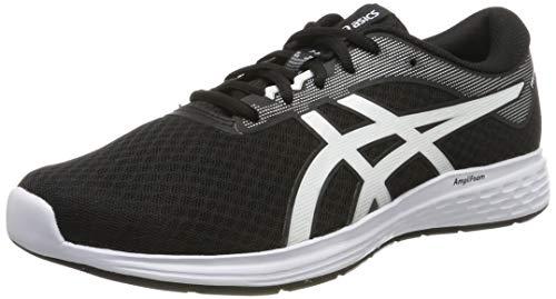 Asics Patriot 11, Zapatillas de Running Hombre, Negro (Black/White 001), 44 EU