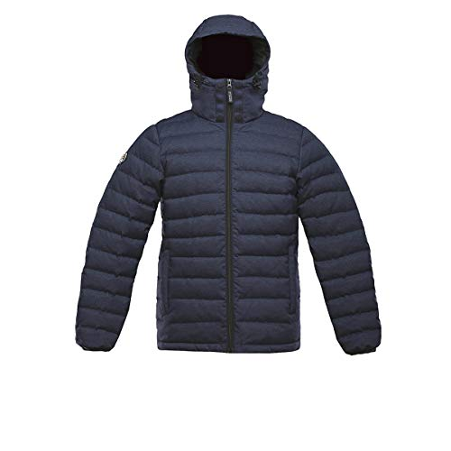 Triple F.A.T. Goose SAGA Collection | Logan | Light Weight Winter Jacket For Men | 750 Fill Power Down (Small, Navy)