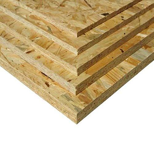 22mm OSB3 66€/m² Grobspanplatte Spanplatte Platten Grobspanplatte OSB Verlegeplatte Holzplatte Feuchtraum-geeignet (125 x 80 cm)