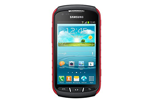 'Samsung Galaxy Xcover 2–Smartphone Android (Bildschirm 4, 5MP Kamera, 4GB, 1GB RAM, 1GHz), Schwarz und Rot [Import]