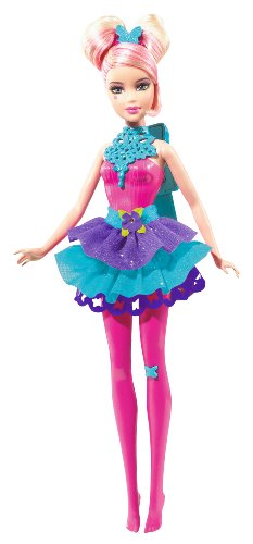 Barbie R6906 Barbie Sparkle Lights Fairy pink