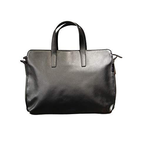 ZZYJYALG Bolsas de Crossbody para mujer Oficina Oficina Viaje de negocios Fichas Fichas Documento Organizador Handbag Carrer Maletín Carcasas Top Handle Bag Cuero Capacidad de gran capacidad Negocio D