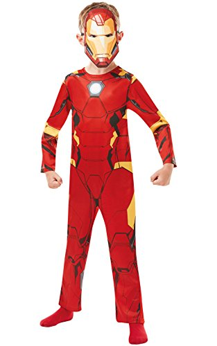 Rubies 640829S Marvel Vengadores Iron Man Clásico Disfraz Infantil Niño, Niños, 3-4 años