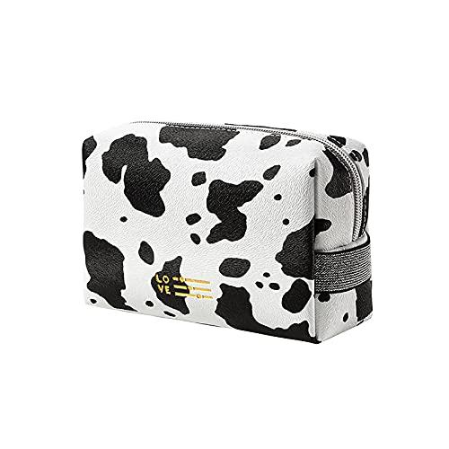 QBQCBB Makeup Bag Cosmetic Cases for Women,Portable Travel Bag Large Travel Toiletry Beauty Bag Handbags Makeup Purses (A)