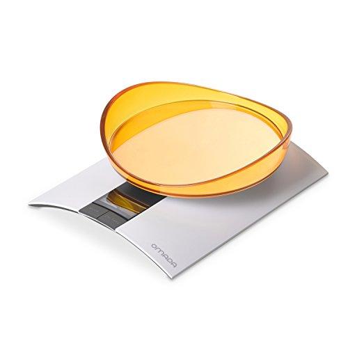 Omada Design Báscula digital 0-3 kg Muy preciso con contenido extra, pantalla LCD, función de tara y médico en gramos y onzas, perfecta para repostería o postres caseros, línea Trendy