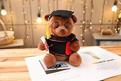 FGBV R 1 stück 18-35 cm Dr. Bär Plüschtier Tool gefüllter Teddybär Tierspielzeug for Kinder lustige Abschlussgeschenk for Kinder Home Decor-35cm_Dark_Brown Manmiao