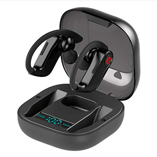 Wireless Earbuds Bluetooth Headphones,5.0 HD Stereo Sound Wireless Headset, IPX7 Waterproof Headphones Built-in Mic, Noise Canceling,Long Playtime, with Charging Case (Q62-earbud)