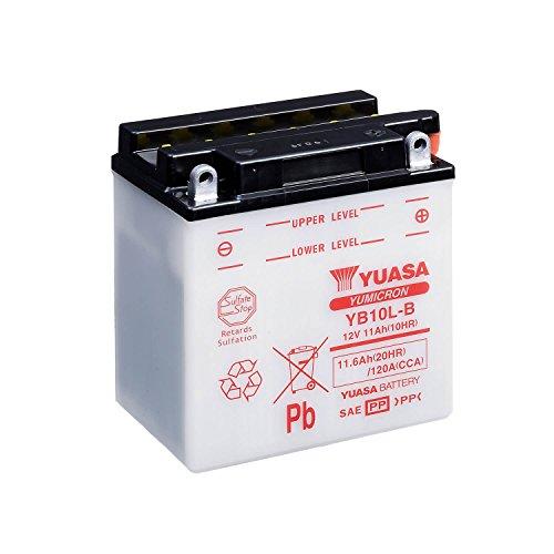 YUASA - Batería YB10L-B2 Dry Charged (sin electrolito)