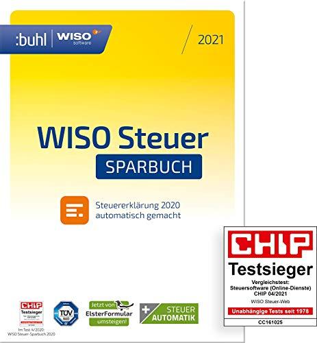 Preisvergleich Produktbild WISO Steuer-Sparbuch 2021 (für Steuerjahr 2020 / frustfreie Verpackung)