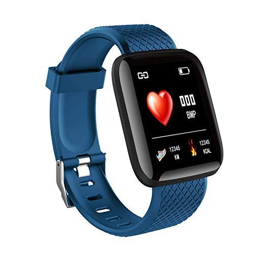 116 Plus Smart Watch 1.3 Pulgadas Tft Pantalla a Color Impermeable Reloj Deportivo Inteligente (Azul)