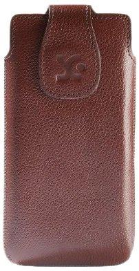 Suncase - Custodia Originale in Pelle per Sony Xperia P
